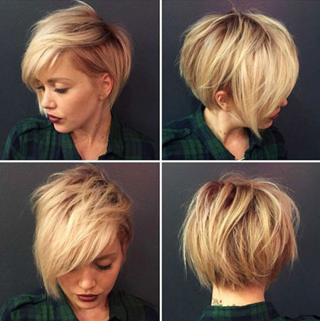 Short Hairstyles with Bangs - 35-