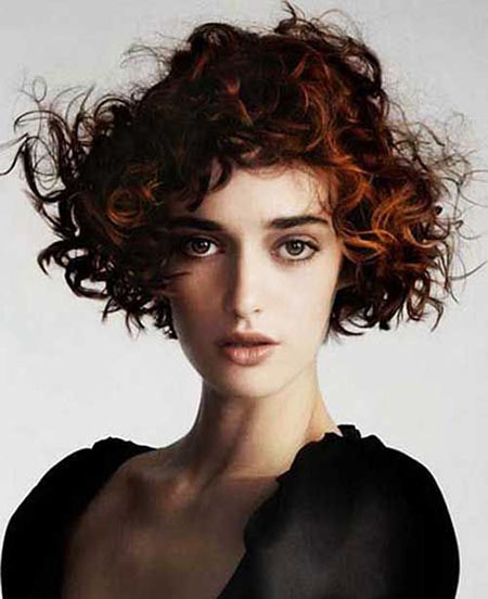 Short Curly Hairstyles - 36-