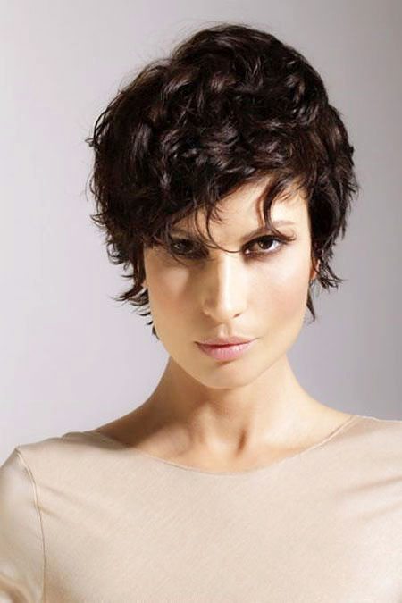 Short Curly Hairstyles - 38-