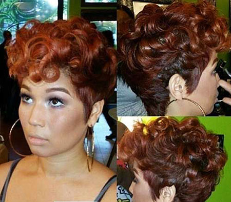 Short Curly Hairstyles - 41-