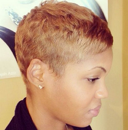 Short Haircuts for Black Women - 9-