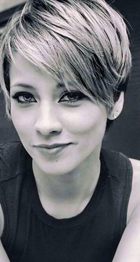 Super Short Hairstyles with Bangs Short Hairstyles amp; Haircuts ...