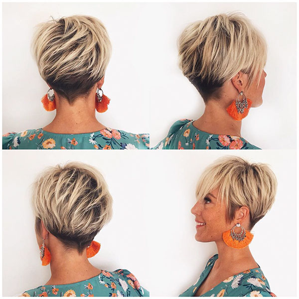 Layered Pixie Cut