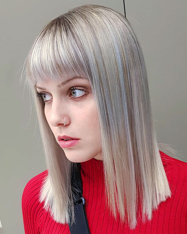 43 Best Short Hairstyles With Bangs In 2019 Short Hairstyles