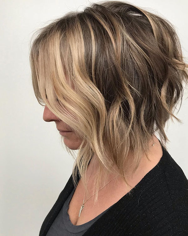 Short Length Layered Haircuts