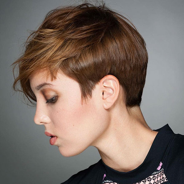 Medium Pixie Cut