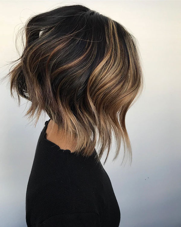 Short Messy Layered Haircuts