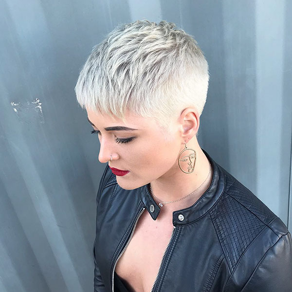 Short Pixie Cut 2019