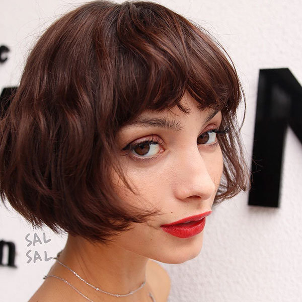 Short Bob With Bangs