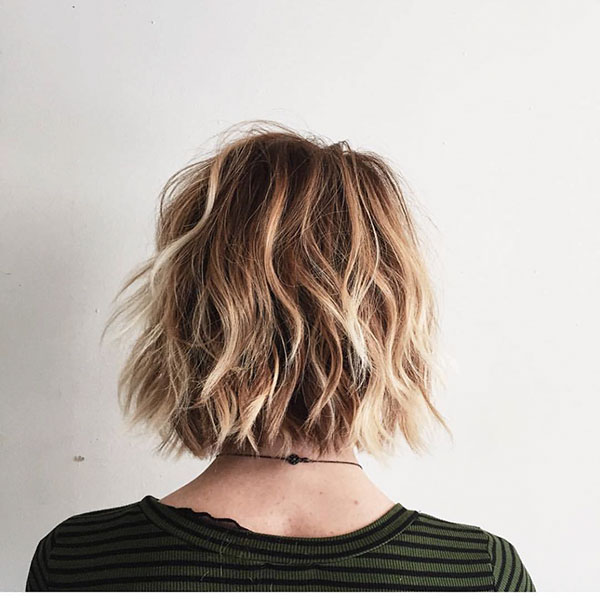 Short Layered Textured Haircuts