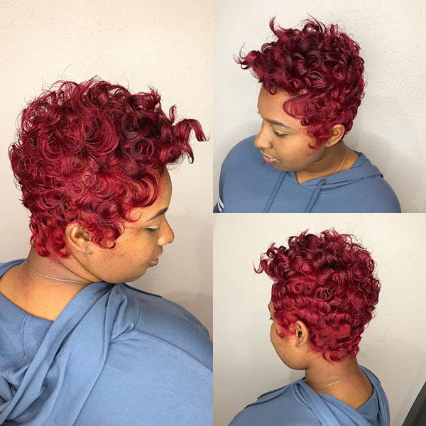 Kurze Bob-Frisuren 2016 für schwarze Frauen