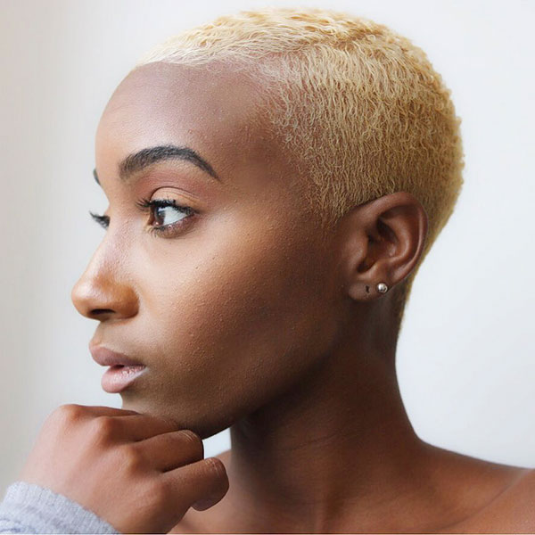 Black Women Shaved Hair