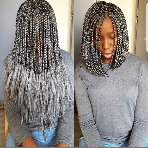 Box Braid Bob Crochet