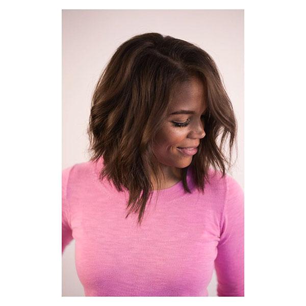 Bilder von kurzen Bob-Frisuren für schwarze Frauen