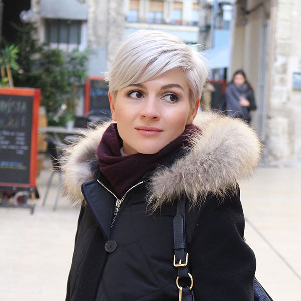 Pixie Blonde Frisuren