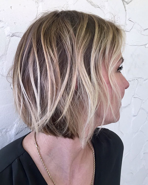 Hair Styles For Short Layered Hair