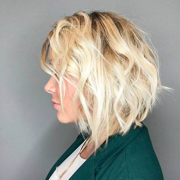 Short And Layered Haircuts