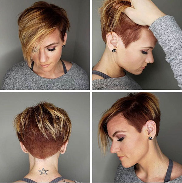 Pixie Hair Color