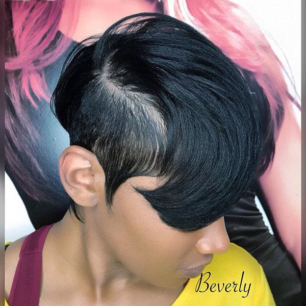 Frisuren für kurzes entspanntes Haar