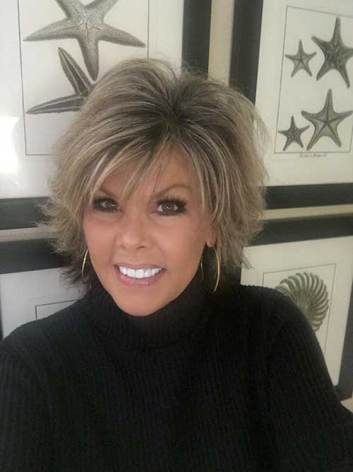 Pretty Short Haircuts For Older Women Short Hairstyles