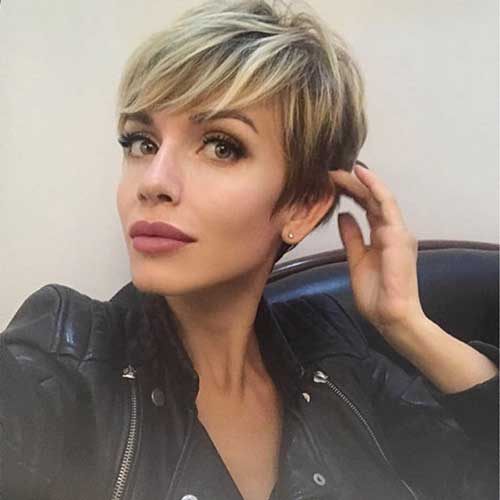 Short Blonde Hair 2019
