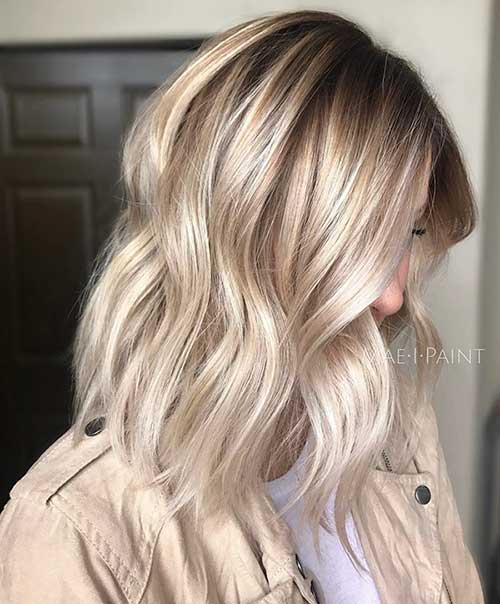 Blonde Ombre Short Hair Style