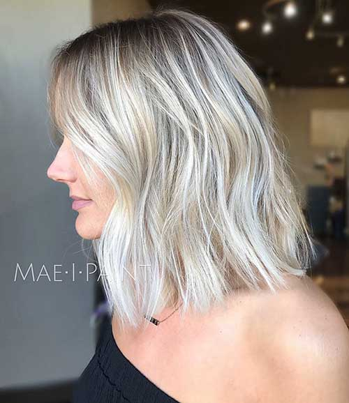 Short Wavy Blonde Hair 2019