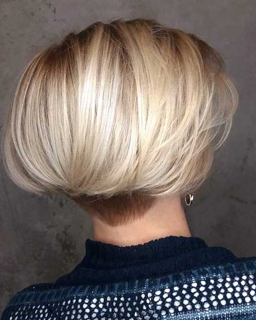 Cute Short Blonde Hair