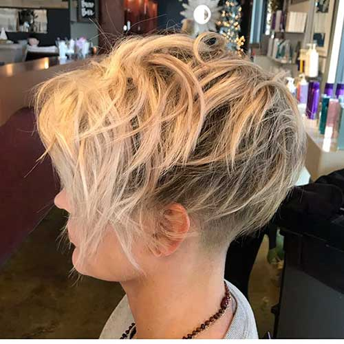 Short Layered Blonde Hair 2019