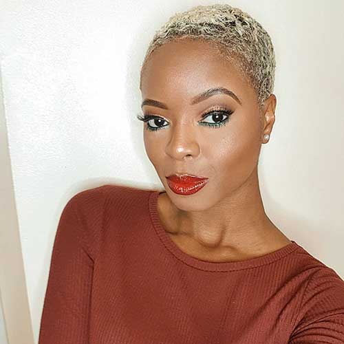 Cute Pixie For Black Women