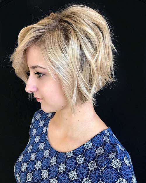 Short Blonde Bob Hair