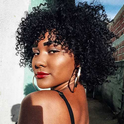 Cute Natural Hair For Black Womens