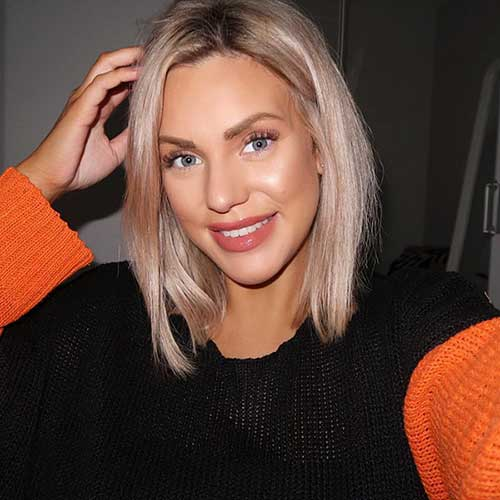 Hairstyle For Short Blonde Hair 2019