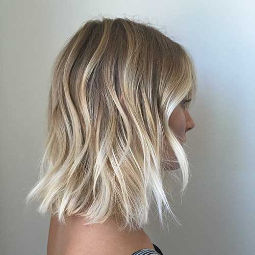 Best Blonde Ombre Short Hair