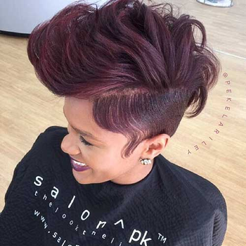 Cute Short Hair Cuts For Black Women