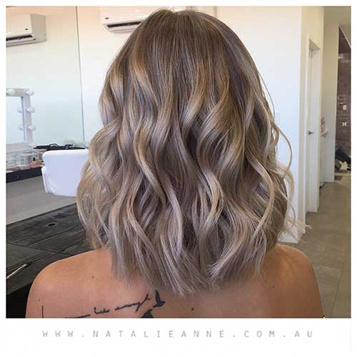 Short Dark Blonde Hairstyle