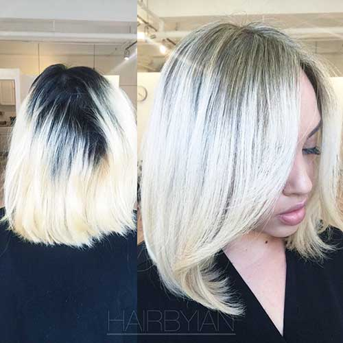 Blonde Hair Color For Short Hairstyles