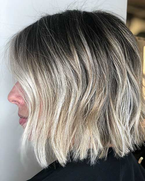 Dark Ash Blonde Short Hairstyles