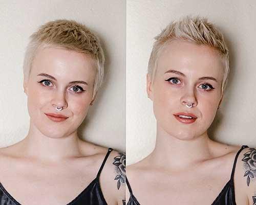 Too Short Blonde Haircuts
