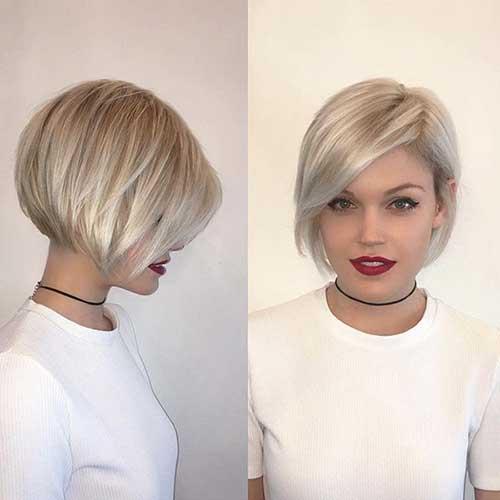 Short Blonde Bob Style