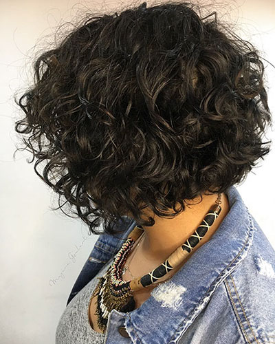 Short Curly Bob Hairstyles For Women