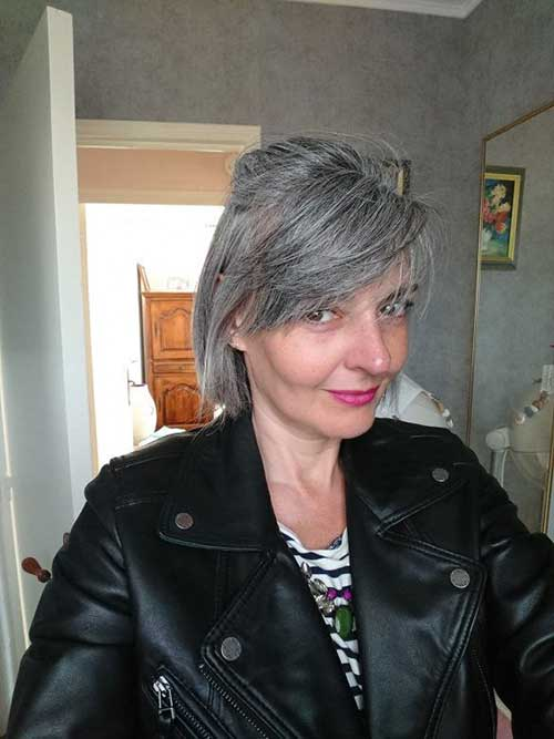 Short Hair Styles Over 50