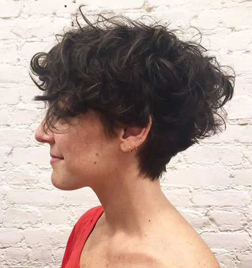 Short Thick Curly Haircuts 2019-10