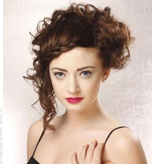 Short Asymmetrical Curly Haircuts 2019-11