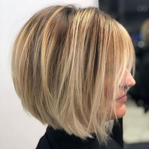 Best Layered Bob Haircuts-12