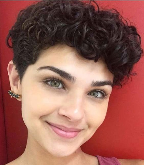 Short Pixie Curly Haircuts 2019-12