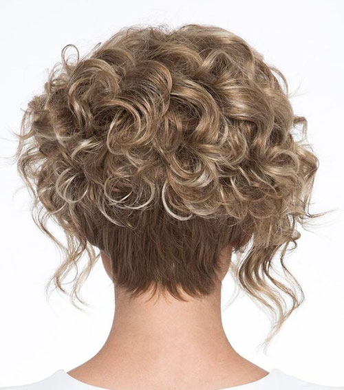 Back View Short Curly Haircuts 2019-17