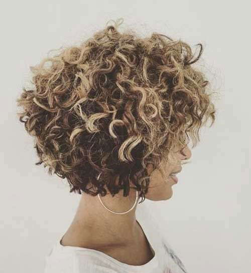 Short Curly Haircuts 2019-21