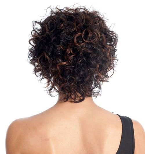Short Curly Haircuts 2019-23
