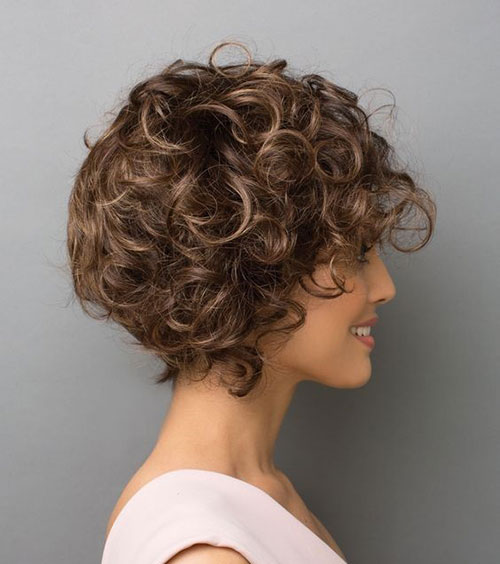 Short Curly Haircuts 2019-24